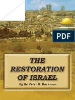 The Restoration of Israel - Dr. Peter S. Ruckman 18 pgs
