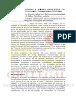 ACCION DE INCONSTITUCIONALIDAD ABSTRACTA...ABORTO