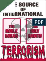 The Source of International Terrorism - Dr. Peter S. Ruckman 22 pgs