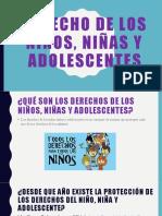 Derecho de los niños, niñas y adolescentes