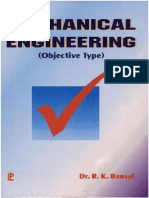 Objective Type Questions In Mechanical Engineering By Dr. R. K. Bansal.pdf
