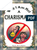 Why I Am Not A Charismatic - Dr. Peter S. Ruckman 22 pgs