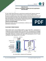 Practica N°6 Determinacion de la eficiencia termica de un calefon instantaneo