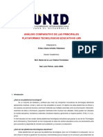 Protocolo Plataformas Educativas