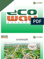 Ecoway Mapendi-Taquara residencial PDG - tel. 55 (21) 7900-8000