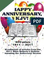 Happy Anniversary, KJV! - Dr. Peter S. Ruckman 73 pgs