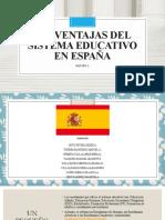 Desventajas Del Sistema Educativo en España