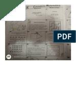 calendario matemático clase julio