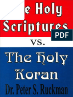 The Holy Scriptures vs The Holy Koran - Dr. Peter S. Ruckman 84 pgs