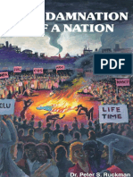 The Damnation of a Nation - Dr. Peter S. Ruckman 90 pgs
