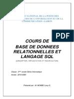 Cours de BDR DUT& Licence GI3