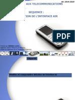 SEQUENCE3-DÉFINITION DE L'INTERFACE AIR