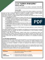LA IGLESIA, LAS REFORMAS BORBÓNCIAS Y LAS REBELIONES ANTICOLONIALES 22-06-2020