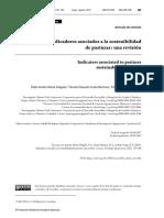 Indicadores Asociados a la Sostenibilidad, 2019