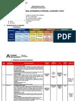 PROGRAMACION ANUAL 2° DPCC 2020