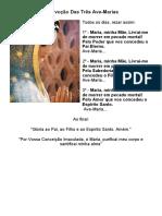 A Devoção Das Três Ave Maria