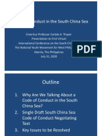 Thayer, Code of Conduct in the South China Sea