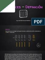 MATRICES - DEFINICIÓN.pdf