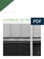 Materiales de Proyecto I - Helio Piñón