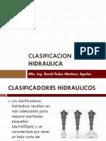 CLASIFICACION HIDRAULICA