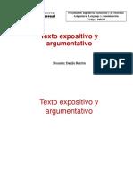 LEN Texto espositivo y argumentativo UNFV sistemas