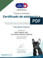 Certificado_Asis_Webinar_Dermatitis