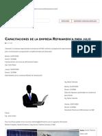 Capacitaciones de la empresa Refriamerica para julio _ ACR Latinoamérica