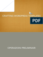 Crafting Wordpress Themes