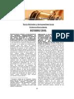Tesis Jurisprudenciales en Sistema Acusatorio, OCTUBRE, 2016.