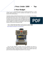 Best Rosin Press Under 1000 – Top Products In Your.pdf