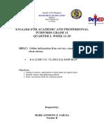 MELC 1-EAPP ()