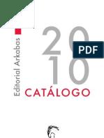 Catálogo 2010 Arkabas
