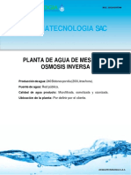 Planta PTAM 240 bidones INIA