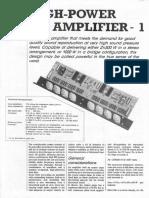 hi fi amplifier