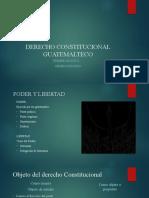 DERECHO CONSTITUCIONAL GUATEMALTECO I