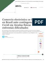 Comercio electrónico se fortalece en Brasil ante contingencia por Covid-19; tiendas físicas enfrentan dificultades _ El Economista