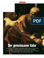 Abraham - Der gemeinsame Vater (Der Spiegel 52, 2008)