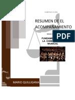 EL ACOMPAÑAMIENTO- MARIO QUILLIGANA