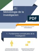 Metodologia de La Investigacion DEM.aiu