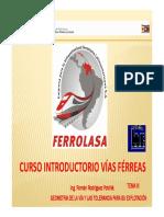 CURSO INTRODUCTORIO DE VIAS FERREAS (PARTE 3)