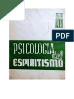 Tomo 2 - Psicología del Espiritismo - 1ra Edición - 1964