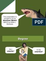 degree 1.0