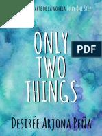 Only Two Things - Desirée Arjona Peña