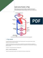 Relación entre Presión y Flujo 2.0