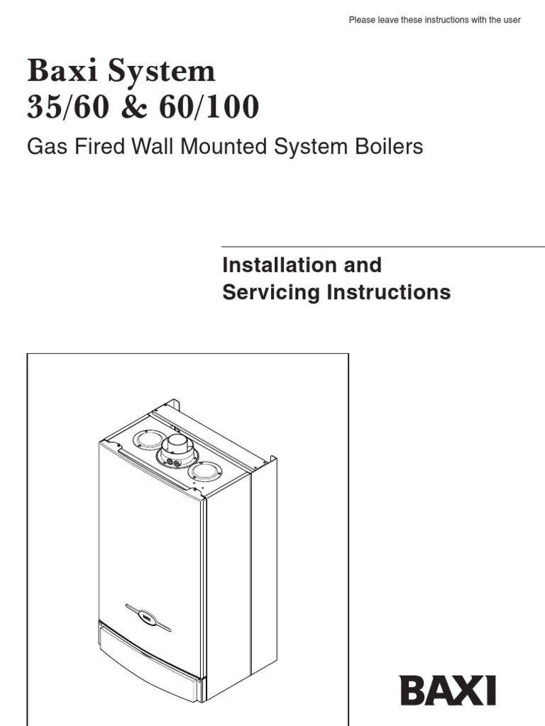 Baxi system 35 60 service manual water heating thermostat cheapraybanclubmaster Gallery