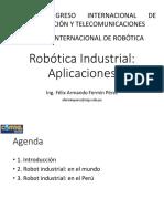 Armando Fermín - Robótica Industrial_Aplicaciones
