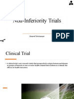 Non Inferiority Trials