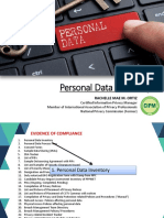 Personal Data Inventory for pdf