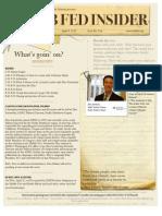 Club Fed Insider, Issue 1