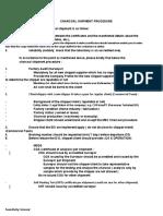 Charcoal Procedure 02012020